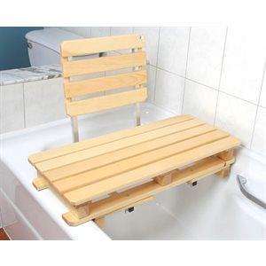 Bath Board: Raised with Backrest