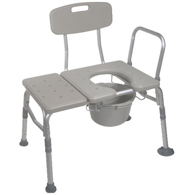 Transfer Chair: Commode Opening