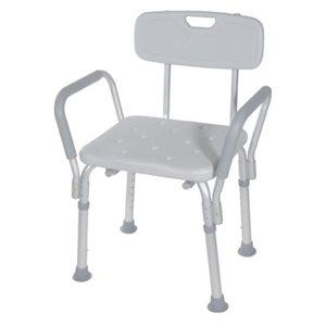Chaise de bain: Accoudoirs Rembourrée Amovibles