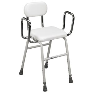 Kitchen: All-Purpose Stool with Adjustable Arms