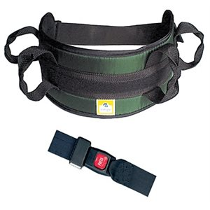Transfer Belt: Padded - Automatic Safety Buckle