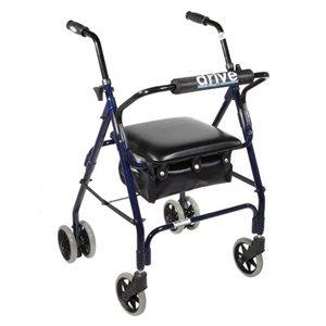 Rollator: Mini Lite - Push-button Brakes