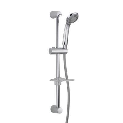 Bath: Adjustable Wall Bar - Shower Set