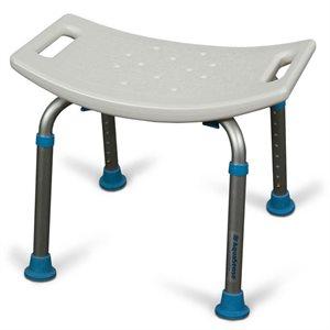Bath and Shower Bench: Adjustable