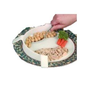Assiette: Arrête-Nourriture en Plastique