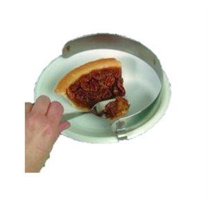 Assiette: Arrête-Nourriture Inoxydable - Grand