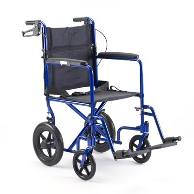 Transport Chair: Blue
