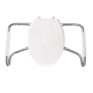 Toilet Seat: Elongated (with cover)