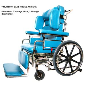 Geriatric: Wheelchair - 4 casters