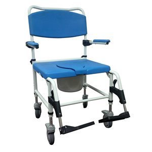 Bath & Commode Chair: Bariatric