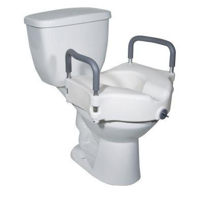Toilet Seat: Armrests