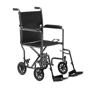 Transport Chair: Silver