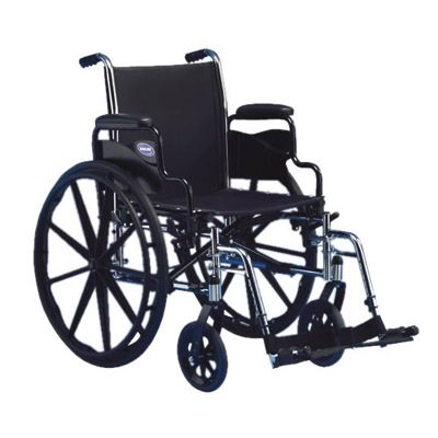 Wheelchair: Tracer SX5 - Fixed Short Armrests that Rock Backwards