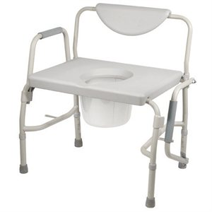 Bath & Commode Chair: Lowering Arms - Bariatric