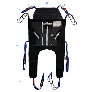 Rapid Fit Sling (Quick Installation) - 6 straps - Headrest